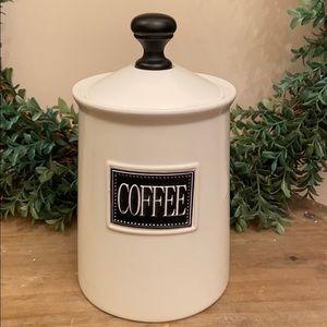 HP🎉Modern Farmhouse Black & White Ceramic Coffee